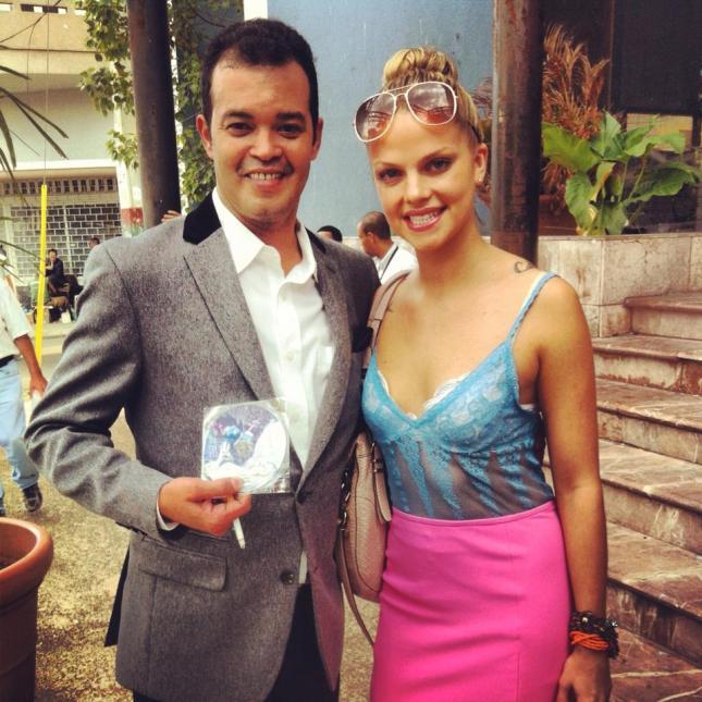 Rebecca Kingsley con Alex Bueno