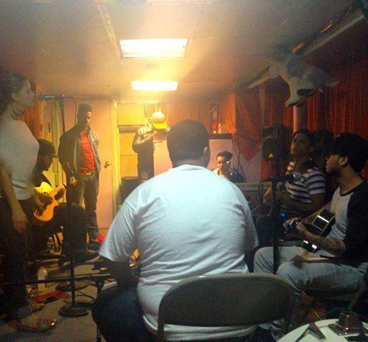 Rebecca Kingsley Bachata Rehearsal